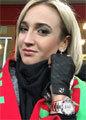 Ольга Бузова болеет за мужа