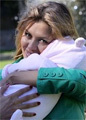 Виктория Боня устроила первую фотосессию с дочкой