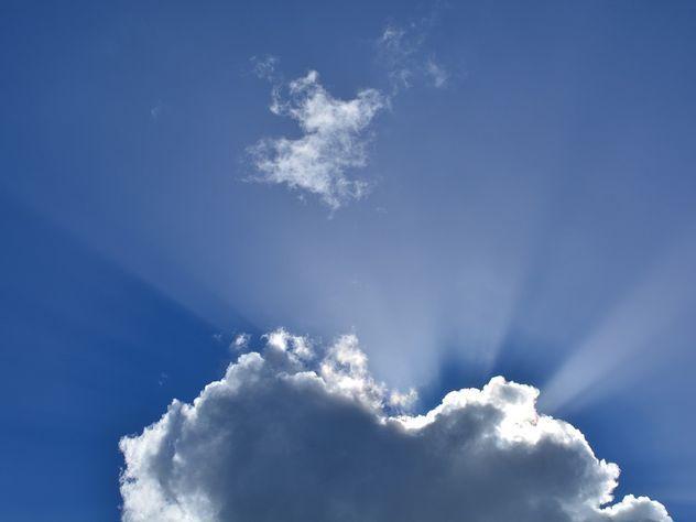 Жители Польши увидели облачного «ангела»