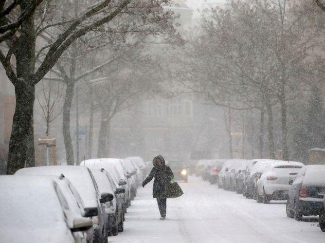 В Москву придут сильные снегопады
