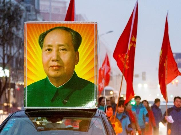 Китайский чиновник потерял работу из-за сравнение всоцсети Мао Цзедуна сдьяволом