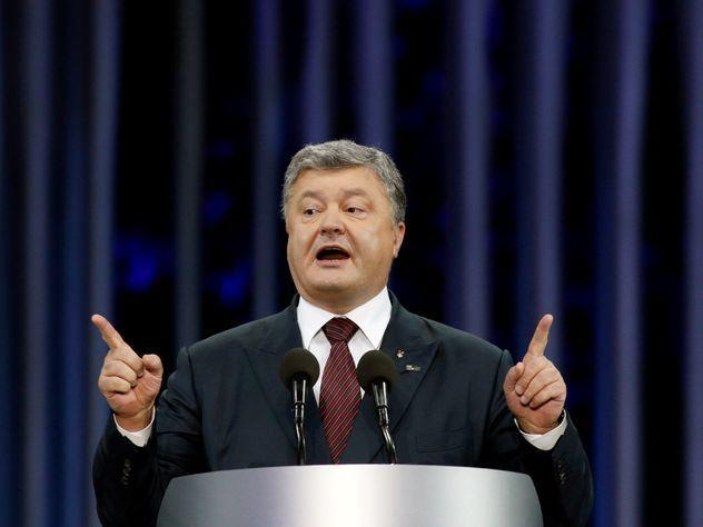Порошенко назвал себя основным сторонником отмены санкций противРФ