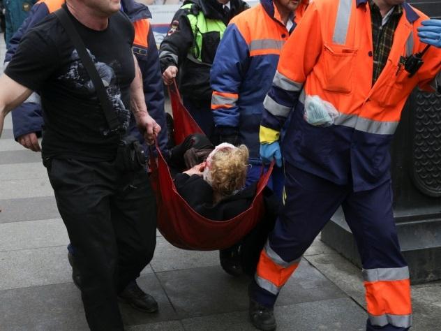 СМИ докладывают о вероятном участии смертника вовзрыве вметро Санкт-Петербурга