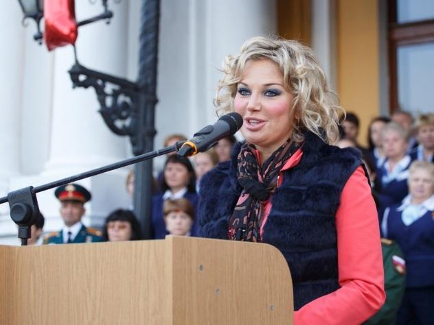 Максакова отметила день рождения Вороненкова вКиеве