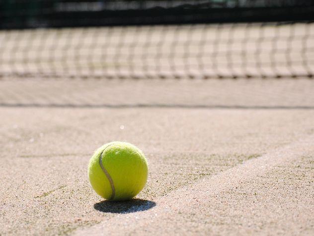 Страстная парочка сорвала международный матч по теннису