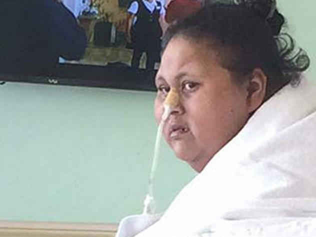Самая полная женщина в мире сбросила три центнера
