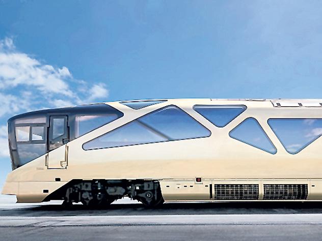 Японцы создали супердорогой поезд