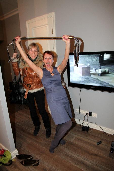 Жанна ЭППЛЕ с подругой Еленой