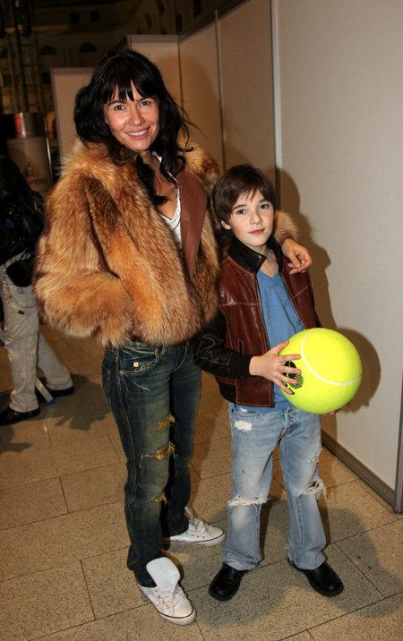 Оксана РОБСКИ с сыном