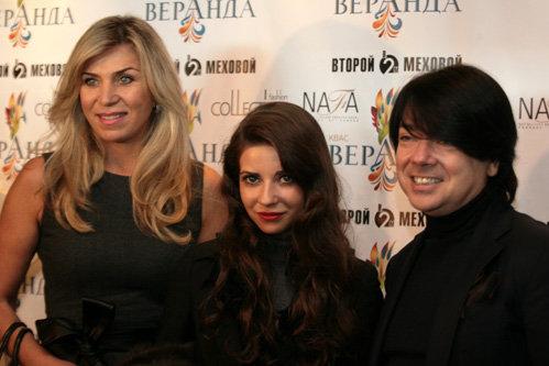 Валентин ЮДАШКИН с женой и дочерью