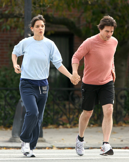 Том и Кэти многое делают вместе. Например, бегают по утрам. Фото Splash/All Over Press