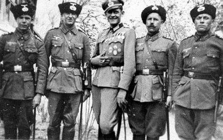 Бравые казаки не брезговали служить Гитлеру