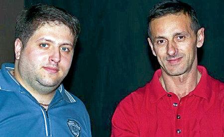 Директор артистки - Руслан СУЛИМОВСКИЙ (слева), племянник её мужа Ивана МАТВИЕНКО