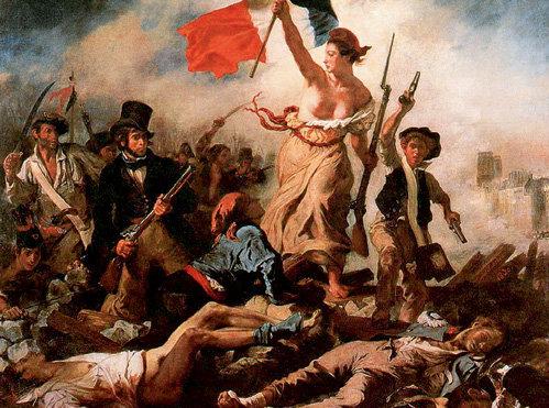 Полотно Эжена ДЕЛАКРУА «Свобода на баррикадах» (1831 г.)