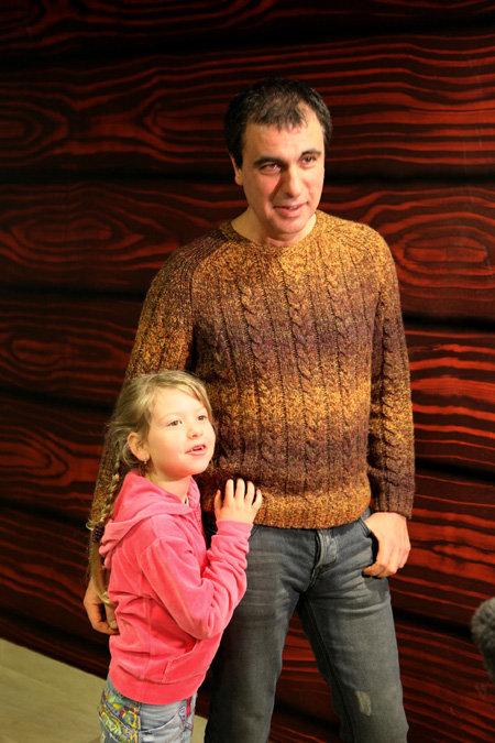 Виктор ЧАЙКА с дочкой