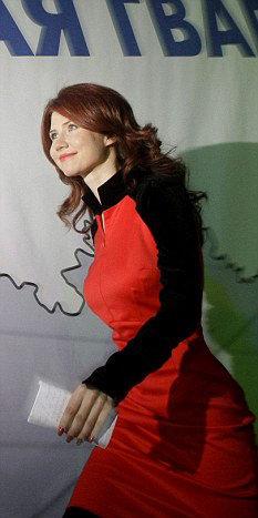 Анна ЧАПМАН на съезде