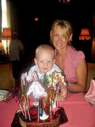 В 2008 году Юля родила сына Данилу... (фото kievfilmfest.com)
