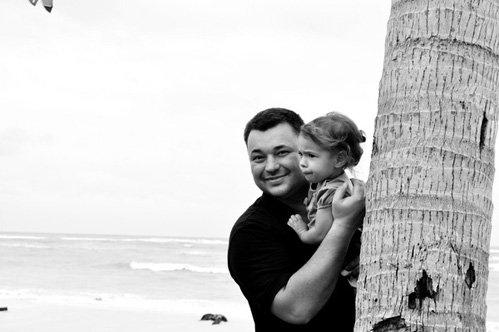 Сергей с дочкой