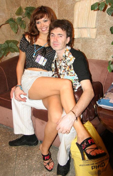 Геннадий ВЕТРОВ с женой Кариной (фото Дмитрия ЛИФАНЦЕВА)