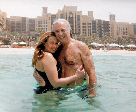 За неделю отдыха в ОАЭ Илья и Ирина всегда проплывают 21 километр на двоих
