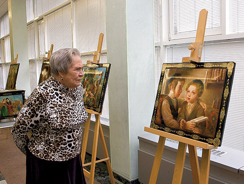 Картина «Мальчики, читающие Тору» ввергла Римму МАРКОВУ в культурный экстаз