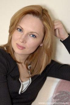 Елена КСЕНОФОНТОВА. Фото с официального сайта актрисы