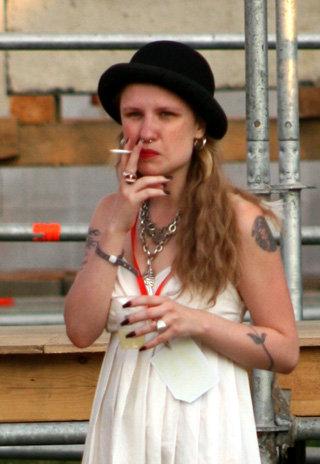 Валерия Гай курить начала ещё школьницей