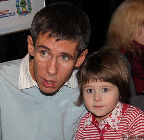 Алексей ПАНИН с дочкой Аней.