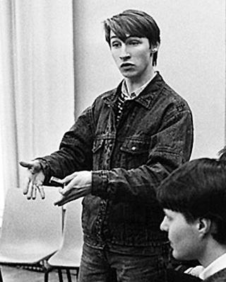 Стать студентом московского театрального вуза Андрей смог лишь со второй попытки