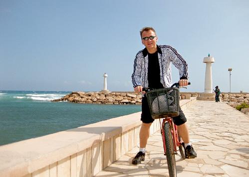 Во время отдыха ГУБИН объездил весь Кипр на велосипеде