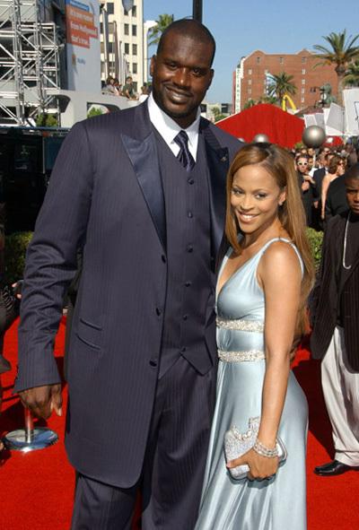 Шакил с бывшей женой