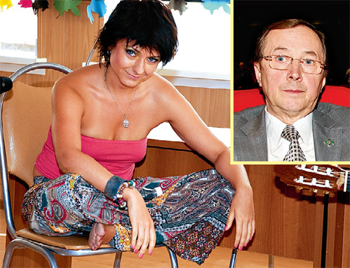 Николай БУРЛЯЕВ рад, что дочь Маша стала актрисой
