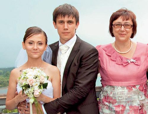 леонид бичевин фото с женой