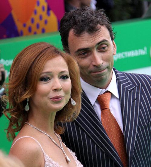 Елена ЗАХАРОВА с мужем Сергеем