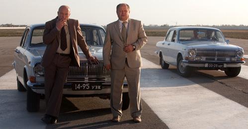 Для картины задействовали автомобили советской эпохи