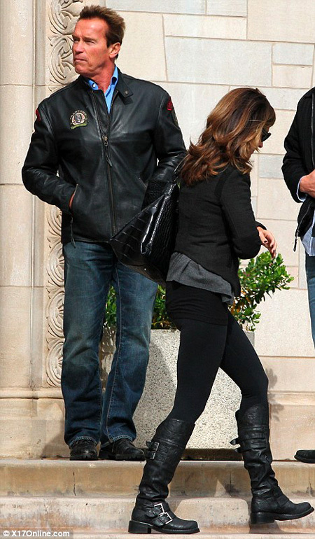 Арнольд ШВАРЦЕНЕГГЕР и Мария ШРАЙВЕР - фото Daily Mail