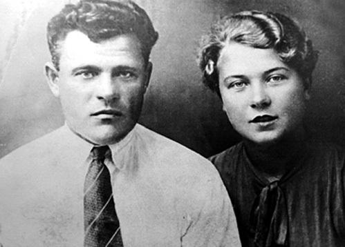 Родители звезды экрана - Марк Гаврилович и Елена Александровна (1934 г.)