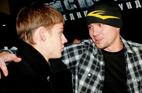 Несмотря на разницу в возрасте, Паша ТАБАКОВ и Денис НИКИФОРОВ быстро стали приятелями