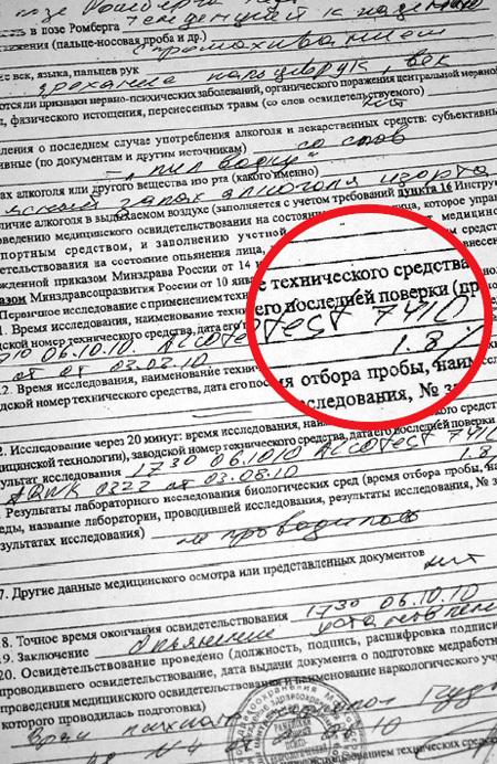 Заключение экспертизы показало, что Роман ГАРМАШ в момент ДТП был пьян