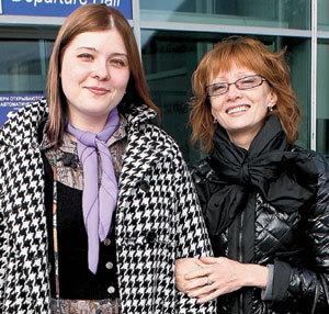 Ольга с дочерью Кирой