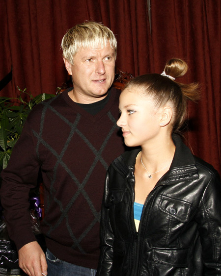 Евгений КАФЕЛЬНИКОВ с дочерью Олесей (фото РИА Новости)