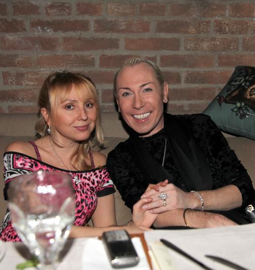 Александр ПЕСКОВ с бывшей женой