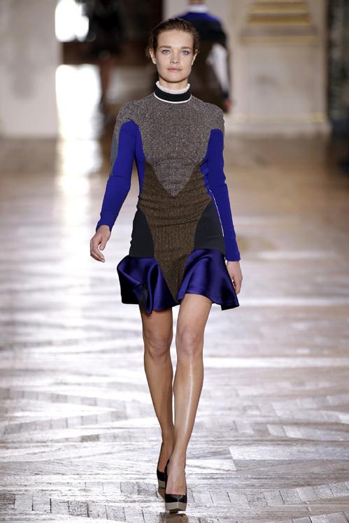 Наталья ВОДЯНОВА на показе Stella McCartney на Парижской неделе моды