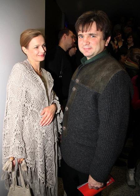 Тимур КИЗЯКОВ с женой (фото Бориса КУДРЯВОВА)