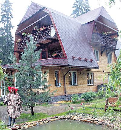При разводе роскошный дом в Новоглаголево нужно будет поделить