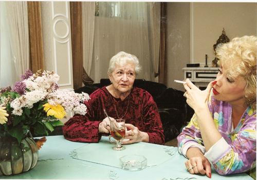 Ирина АЛЛЕГРОВА с мамой Серафимой Михайловной.