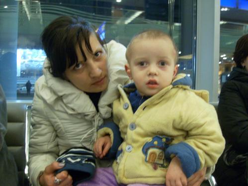 Мама Игоря Евгения