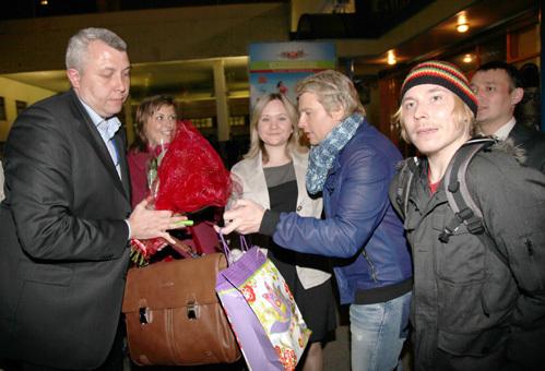 Николай БАСКОВ с поклонниками