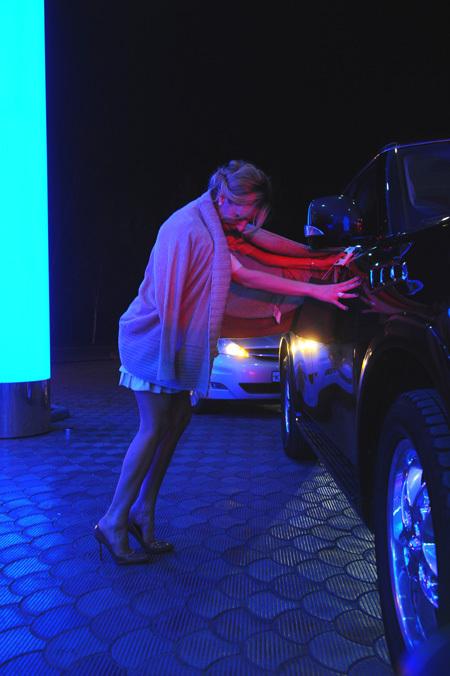 ...и в итоге едва дошла до машины