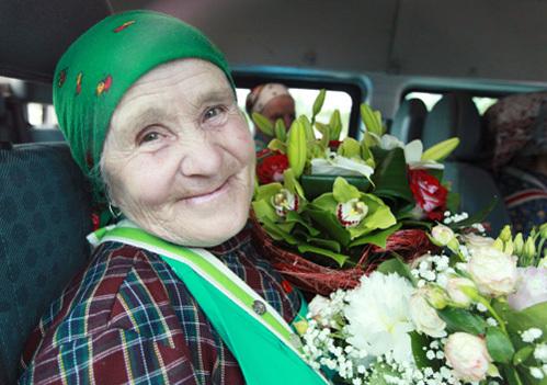 Бабушка ПУГАЧЁВА стала настоящей звездой